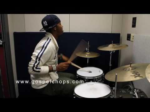 Darion Ja'Von Demonstrates Hot Gospel Drum Chops