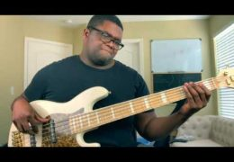 """Kirk Franklin """"Love Theory"""" Bass Cover by Travis Dykes"""