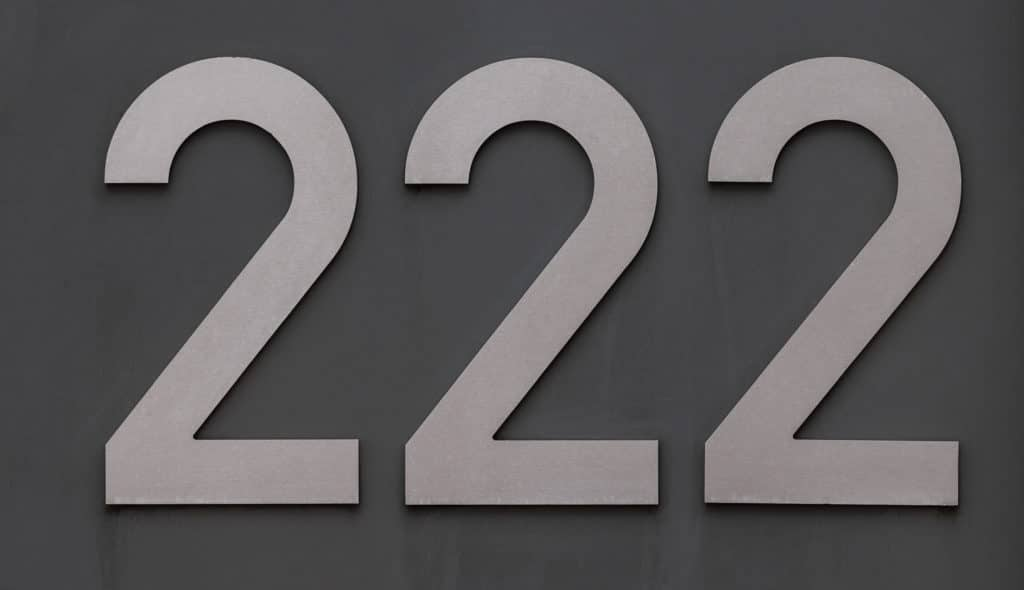 222 Angel Number Meaning