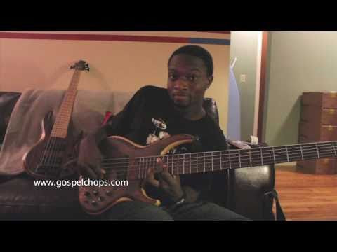 GospelChops Bass Lesson with Justin Raines