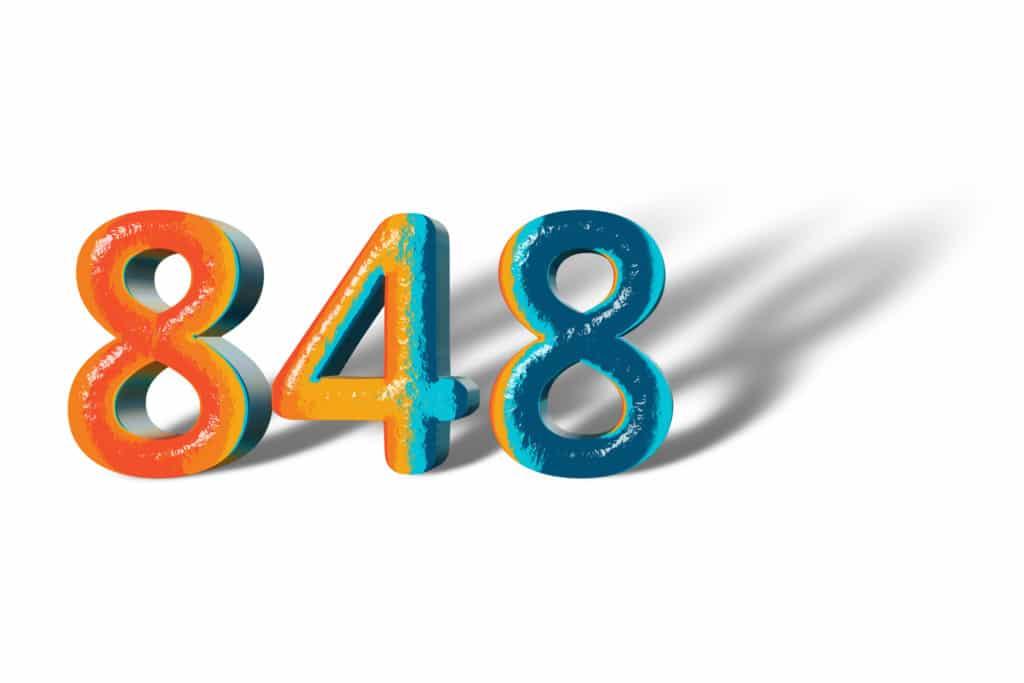848 angel number